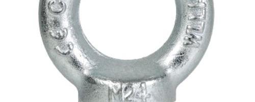Parafuso olhal - rosca métrica - DIN 580